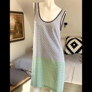 Joie Shallcross Patterned Silk Shift dress